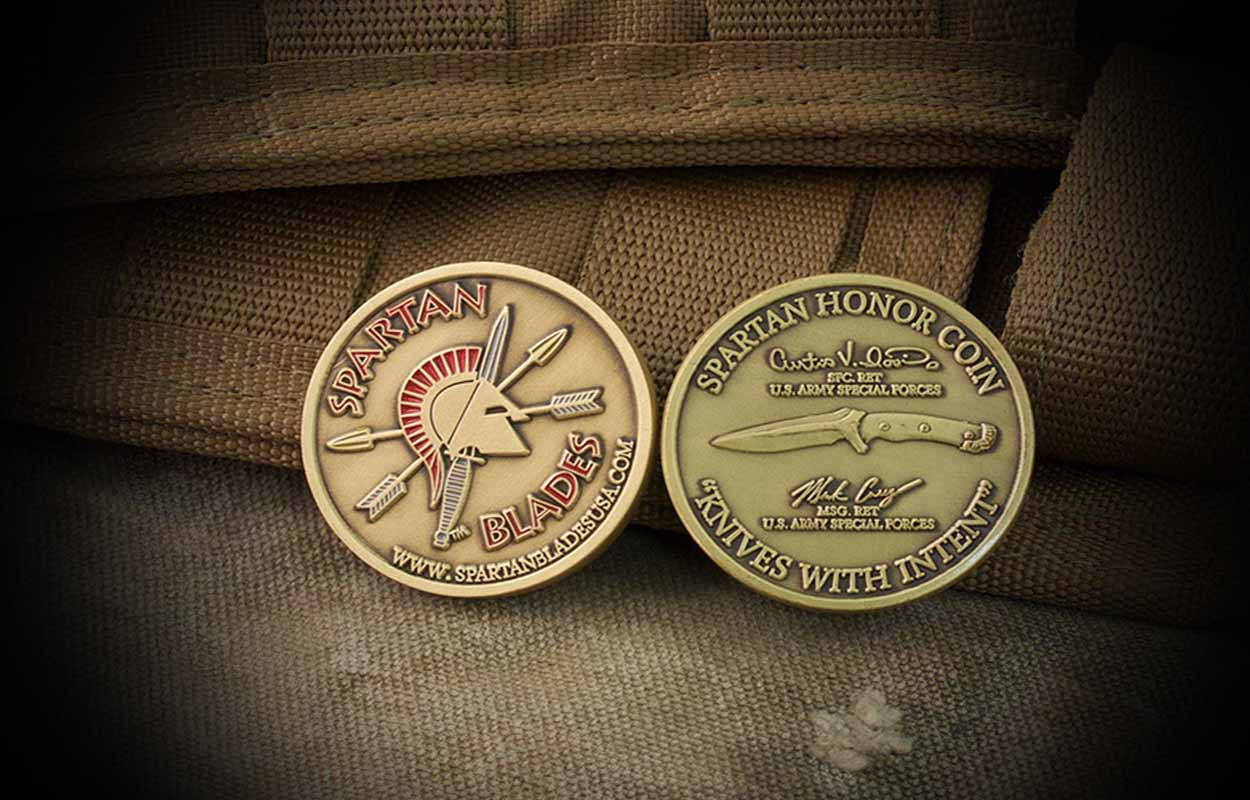 Spartan Honor / Challenge Coin