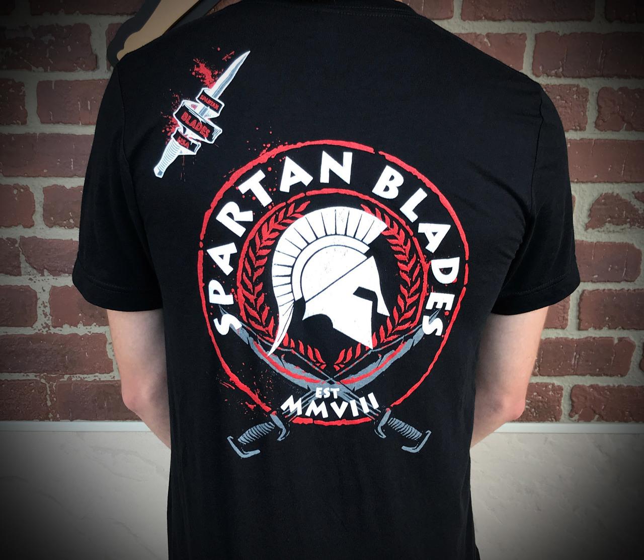 spartan t shirt  Spartan Tri-Color T - Shirt
