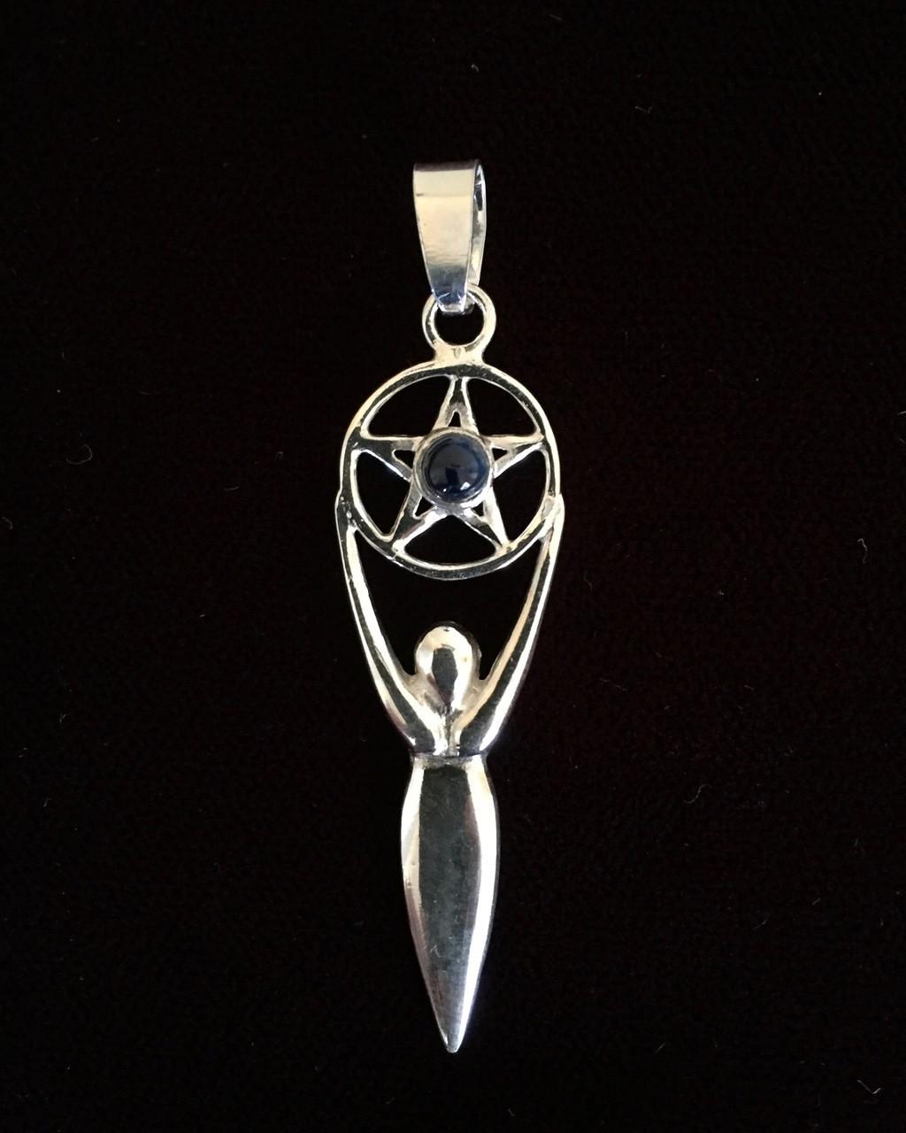 Goddess of Pentagram (with Sapphire)