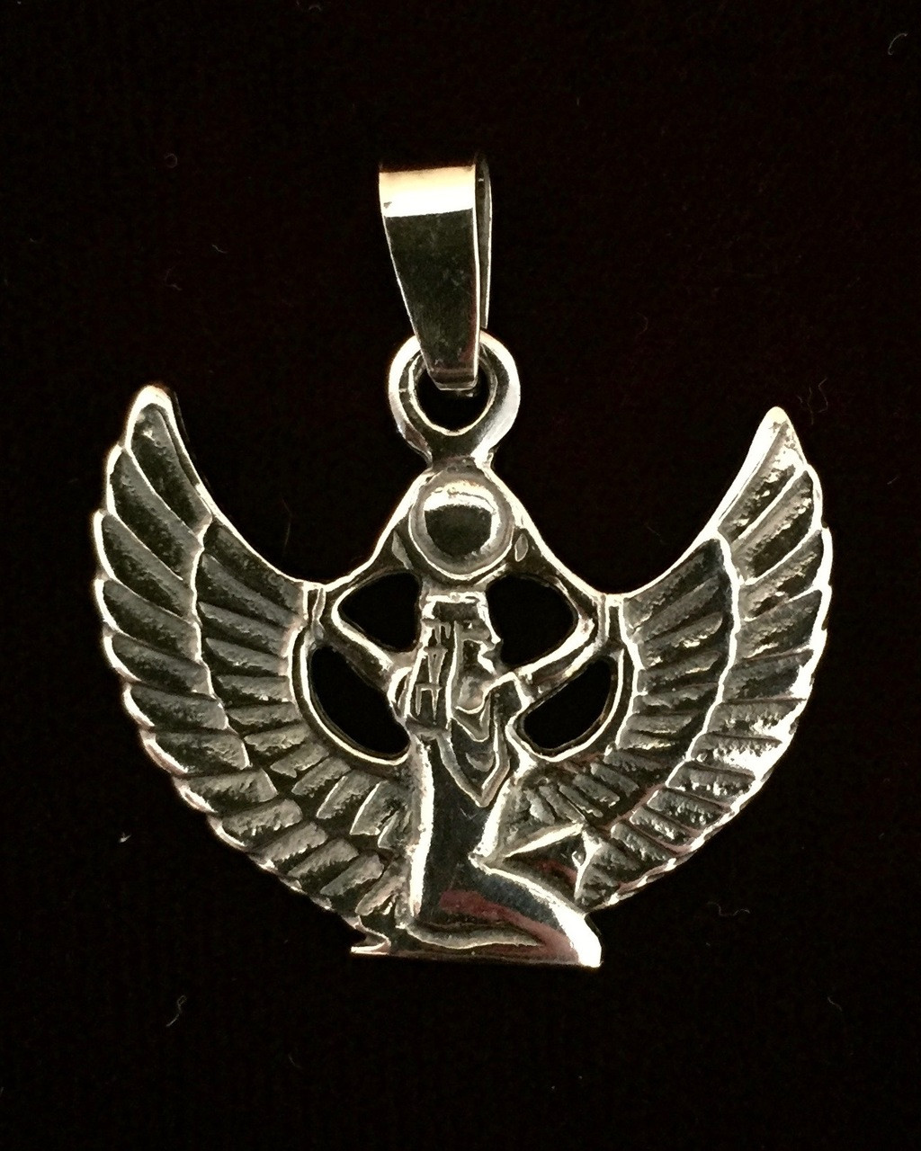 Protective Wings of Isis - Uplifted Wings