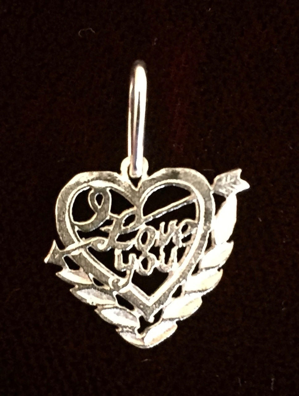Heart with Cupid Arrow