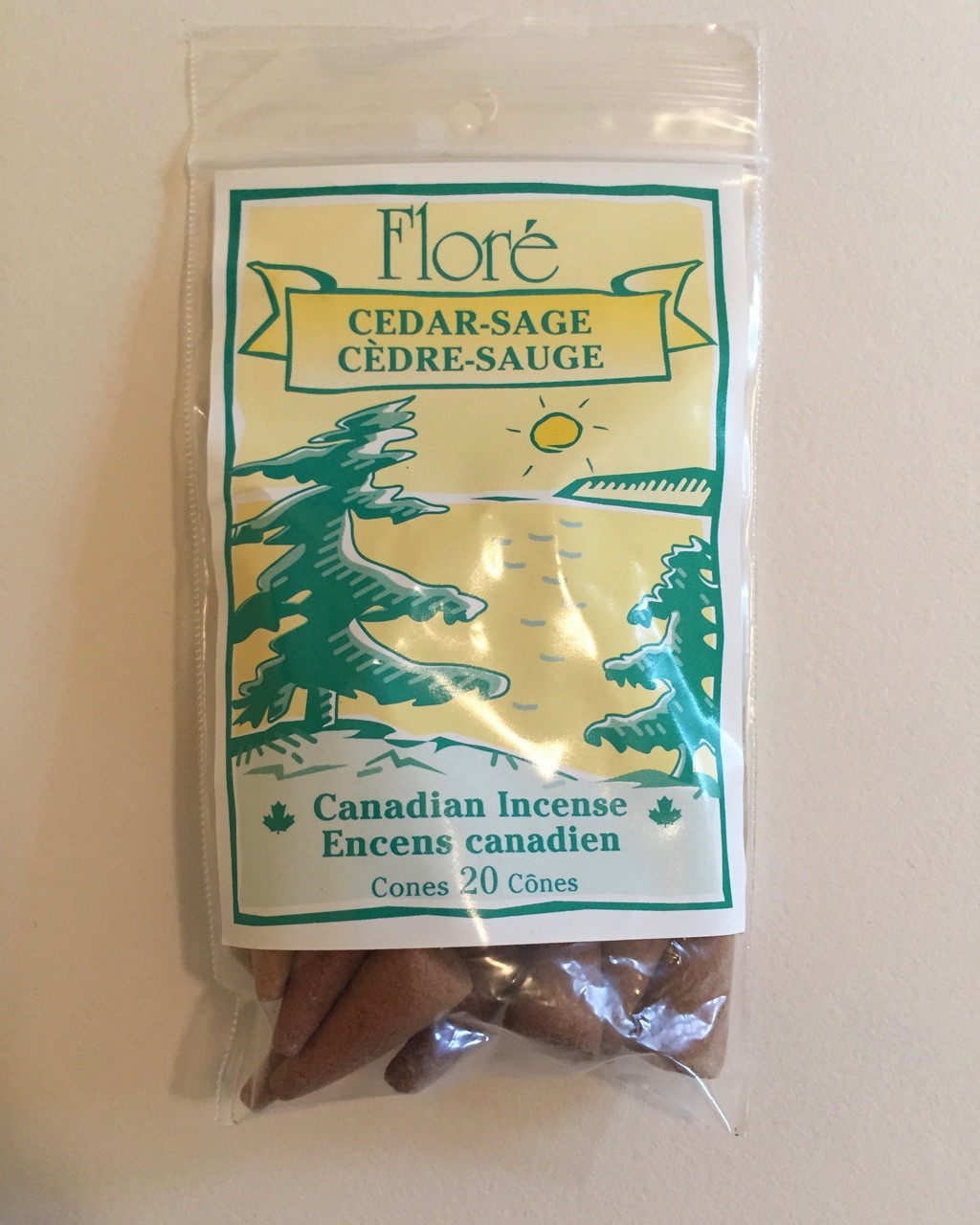 Cedar-Sage Cone Incenses