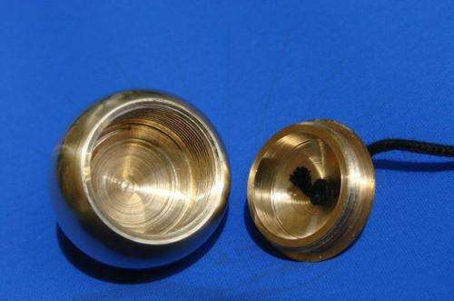 Mermet Pendulum witness chamber shown