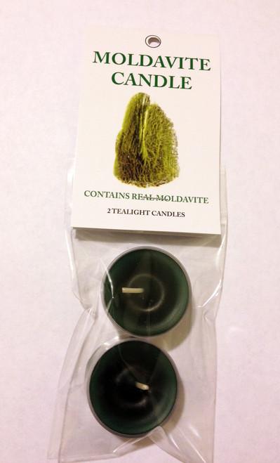 Moldavite Tealights