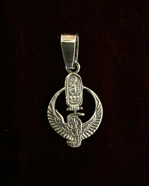 Protective Wings of Isis with Cartouche