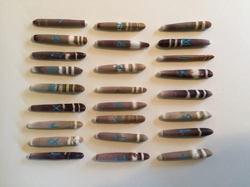 Runes on Echidna's Quills (Medium)