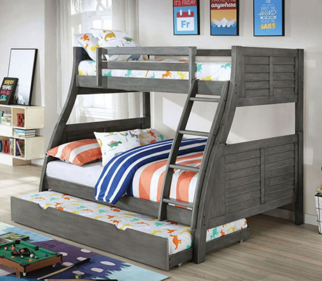 Picture of: Bunk Beds Bunk Beds With Stairs Efurniturehouse