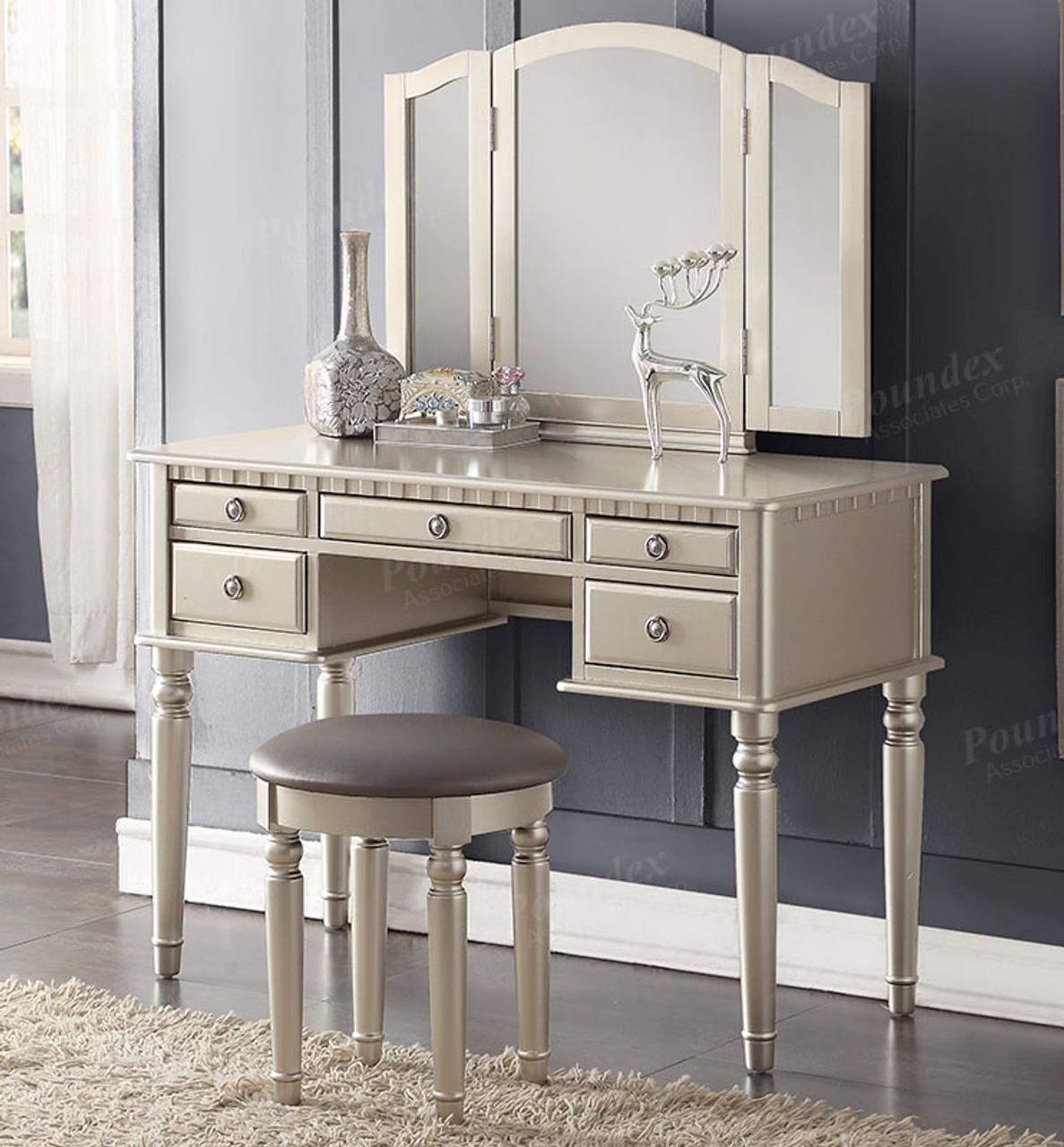 . Christine Makeup Dressing Table Set