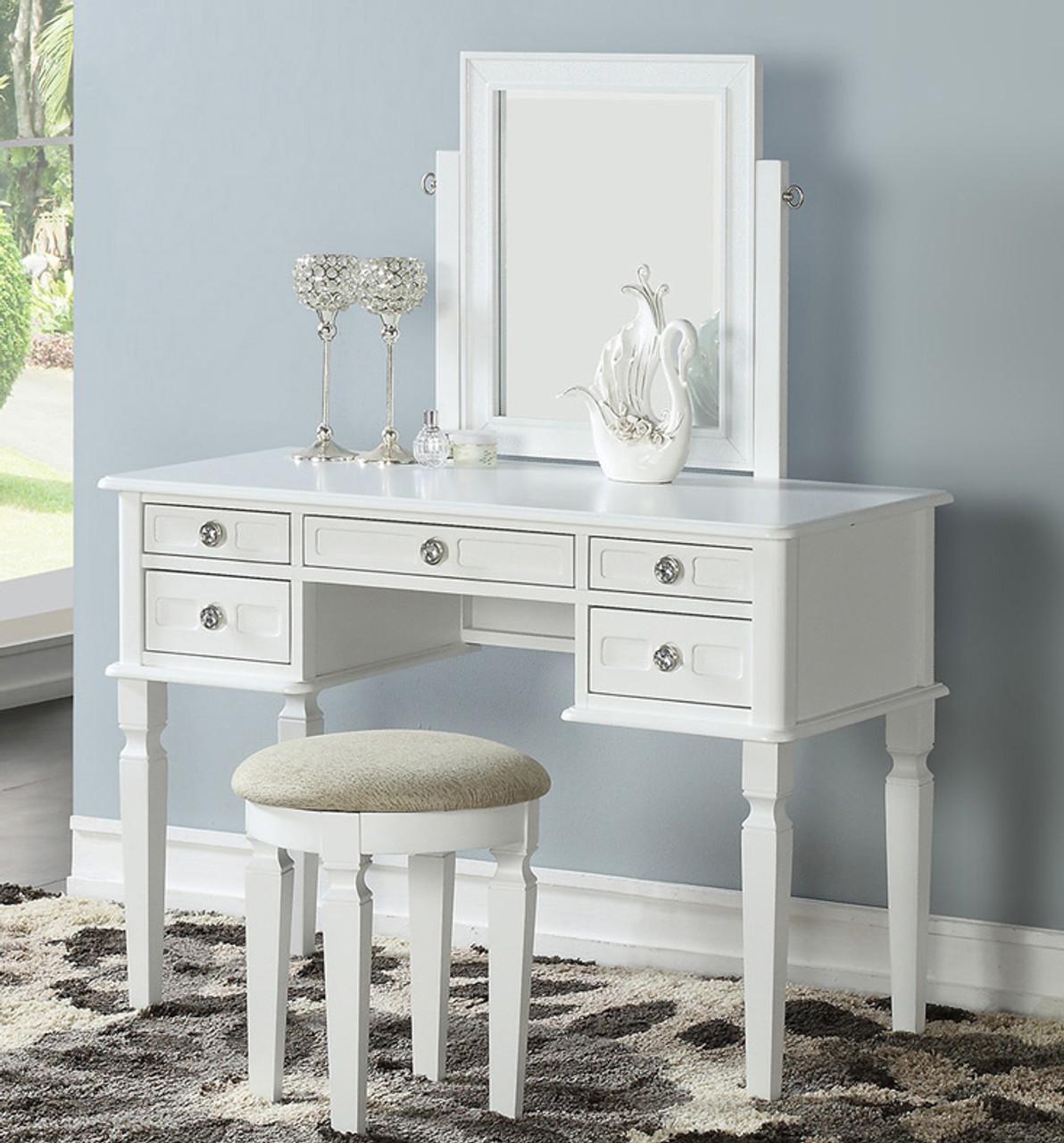 Montana Bedroom Vanity Set w/ Drawers