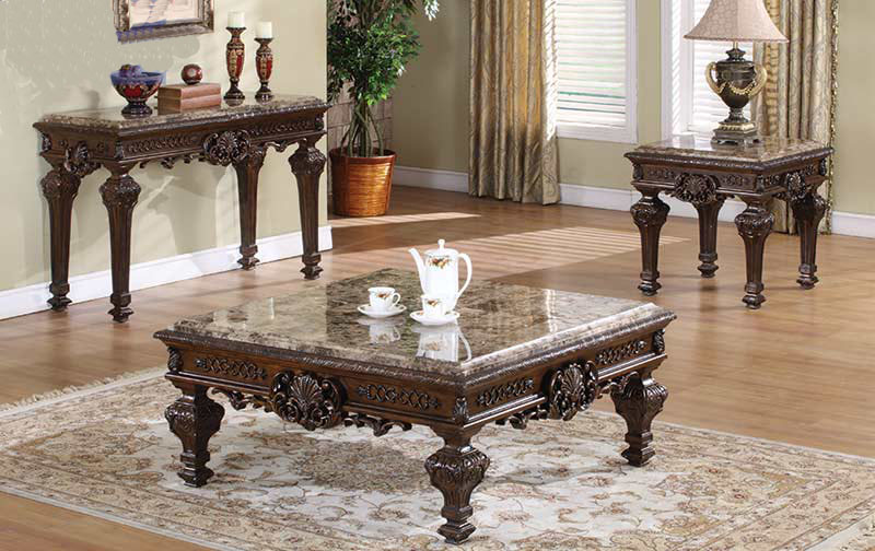 Marble Coffee Table Sets 10