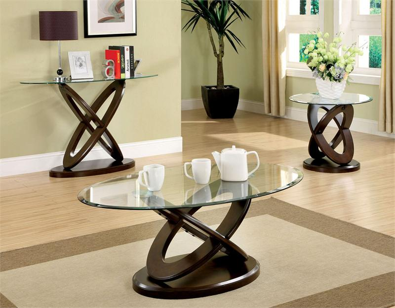 Oval Coffee Table Sets 7