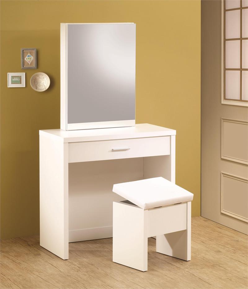 super popular c9d92 2c8b9 Taylor White Vanity Desk Set