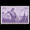 1954 3c Nebraska Territory Mint Single