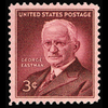 1954 3c George Eastman Mint Single