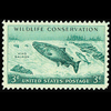 1956 3c Salmon Mint Single