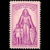 1957 3c Polio Mint Single