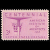 1957 3c Architects Mint Single