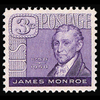 1958 3c James Monroe Mint Single