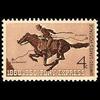 1960 4c Pony Express Mint Single