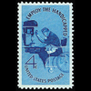 1960 4c Employ the Handicapped Mint Single