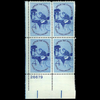 1960 4c Employ the Handicapped Plate Block