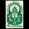 1960 4c World Forestry Congress Mint Single