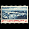 1960 4c Automated Post Office Mint Single
