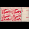 1962 4c Girl Scouts Plate Block