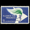 1963 5c Alliance for Progress Mint Single