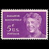 1963 5c Eleanor Roosevelt Mint Single
