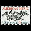 1964 5c American Music Mint Single