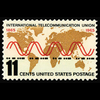 1965 5c Telecommunications Mint Single