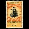 1966 5c National Grange Mint Single
