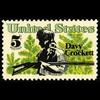 1967 5c Davy Crockett Mint Single