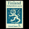 1967 5c Finland Independence Mint Single
