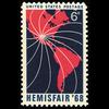 1968 6c Hemisfair '68 Mint Single