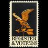 1968 6c Register & Vote Mint Single