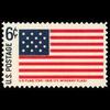 1968 6c Fort McHenry Flag Mint Single