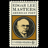 1970 6c Edgar L. Master-Poet Mint Single