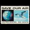 1970 6c Globe & Seagull Mint Single