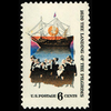 1970 6c Pilgrim Landing Mint Single