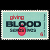 1971 6c Blood Donors Mint Single