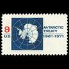 1971 8c Antarctic Treaty Mint Single