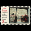 1971 8c John Sloan-Artist Mint Single