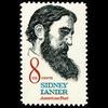 1972 8c Sidney Lanier-Poet Mint Single