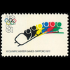 1972 8c Olympics-Bob Sled Racing Mint Single