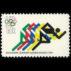 1972 15c 6c Olympics-Foot Racing Mint Single