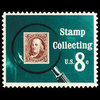1972 8c Stamp Collecting Mint Single