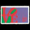 1973 8c Love Mint Single
