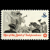 1973 8c Posting Broadside Mint Single